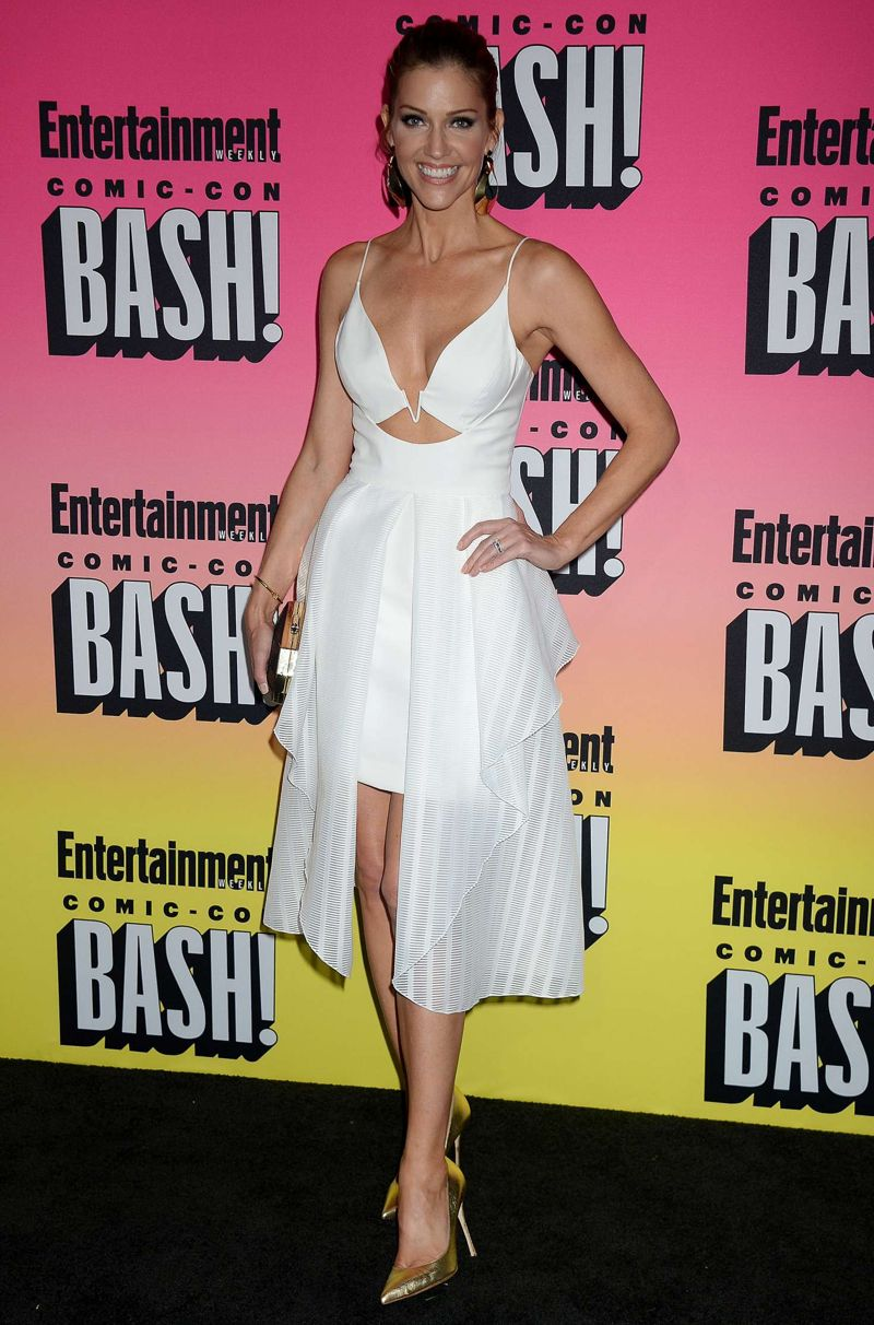 Tricia Helfer: Entertainment Weekly Annual Comic-Con Party
