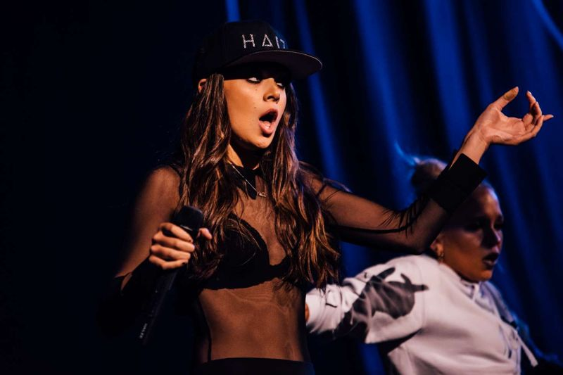 Hailee Steinfeld Performing on The Untouchable Tour