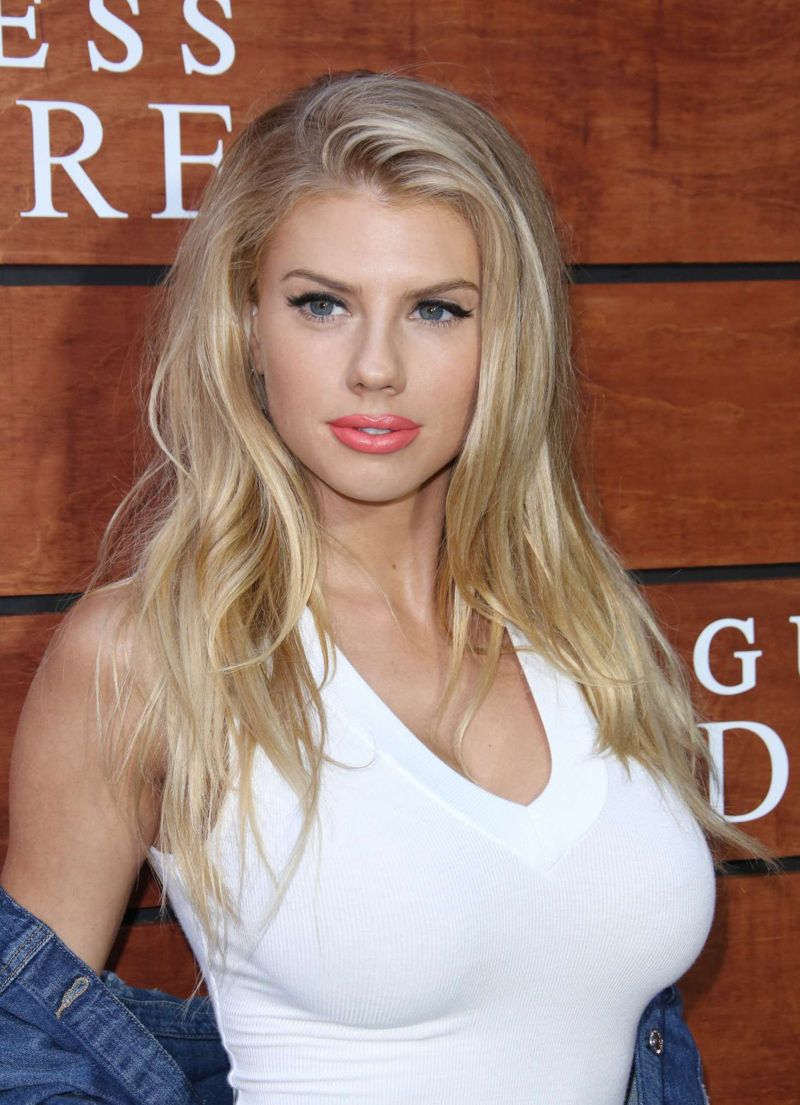 Charlotte McKinney Guess Dare Fragrance Launch