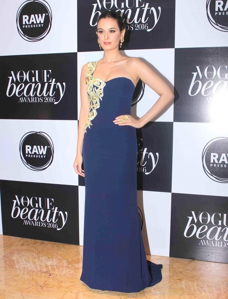 Evelyn Sharma at 'Vogue Beauty Awards' 2016