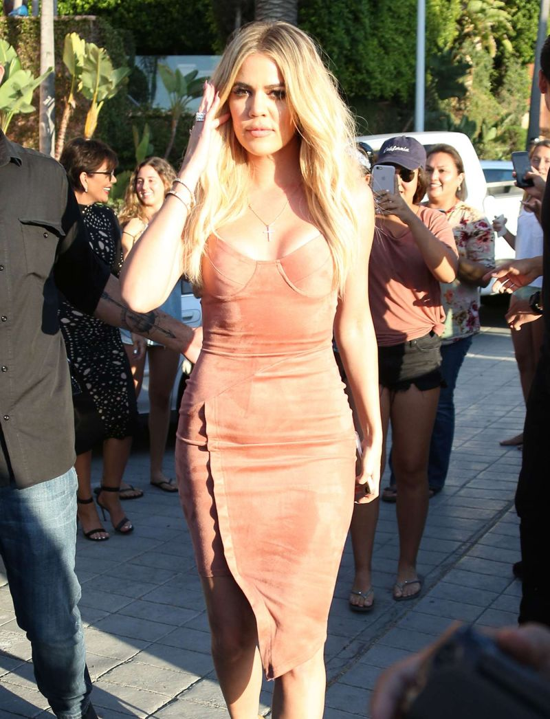 Khloe Kardashian out in San Diego