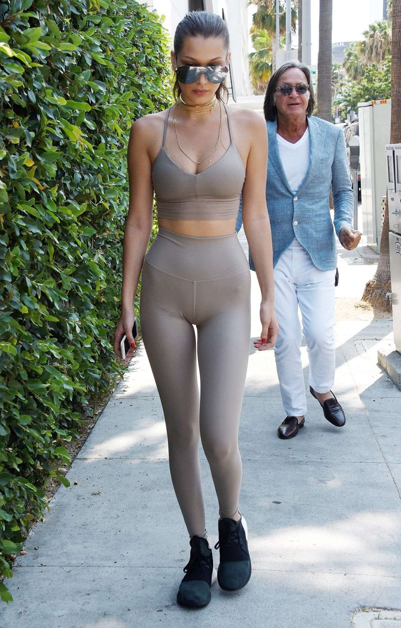 Bella Hadid Heading to Il Pastaio in Beverly Hills