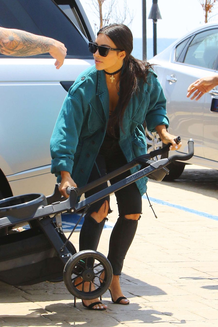 Kim Kardashian Leaving Nobu in Malibu