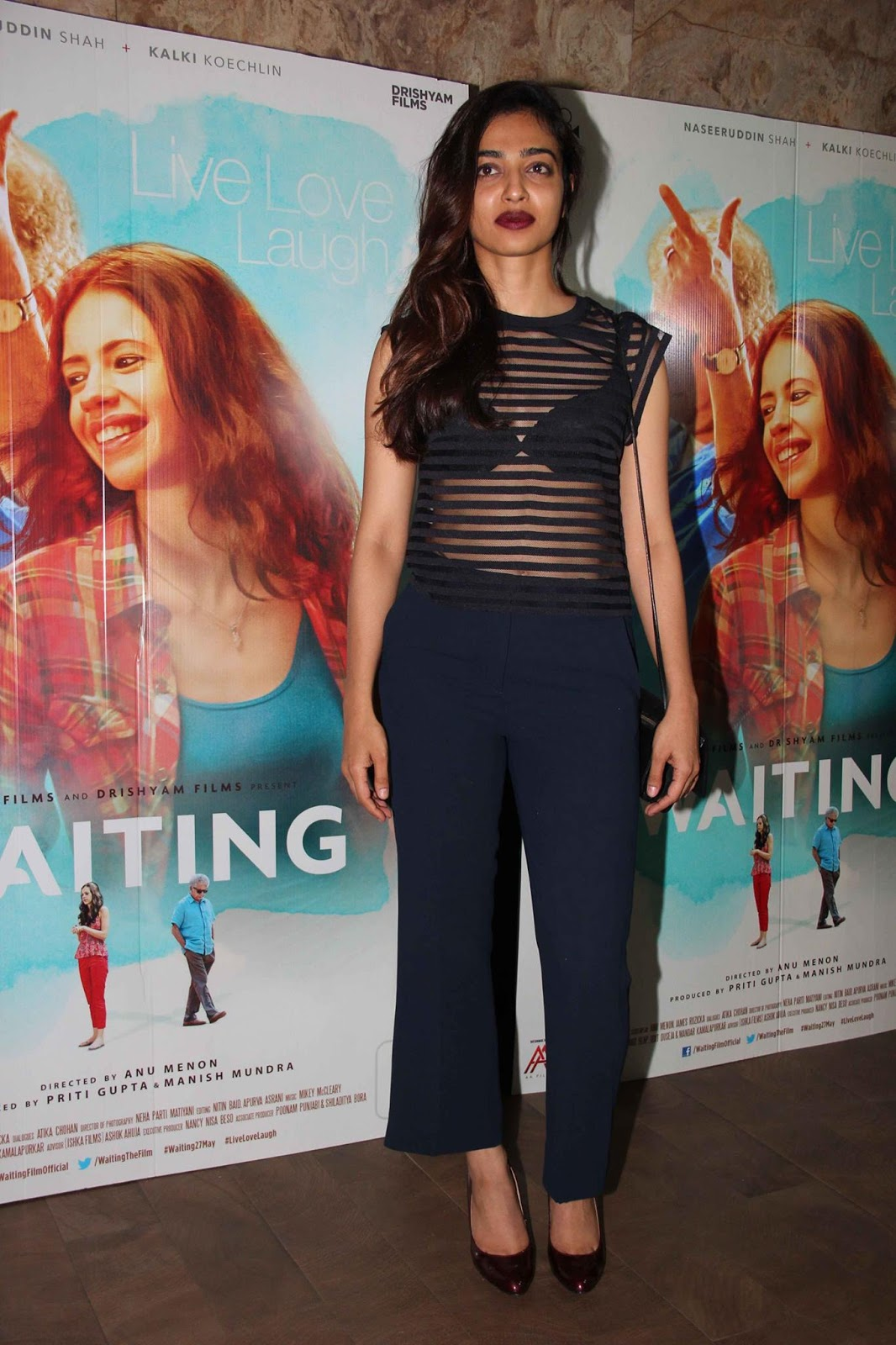 Radhika Apte at the Special Screening of 'Waiting'