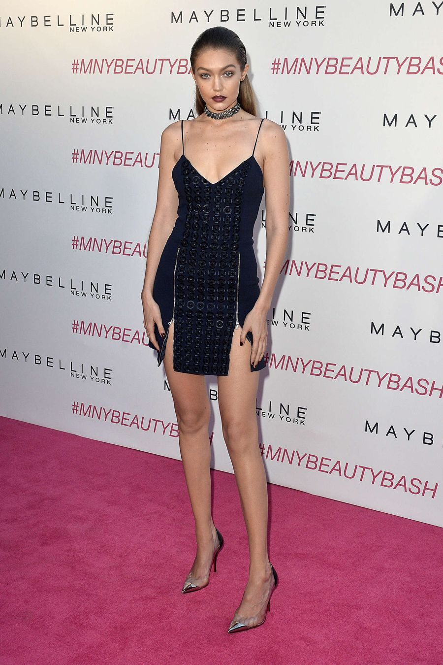 Gigi Hadid - Maybelline New York Beauty Bash in L.A.