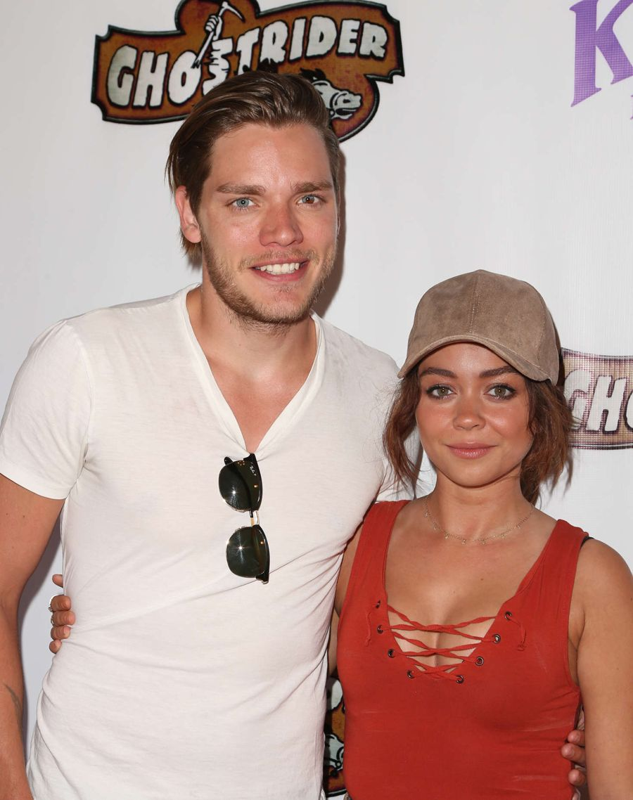 Sarah Hyland - GhostRider Reopening at Knott's Berry Farm