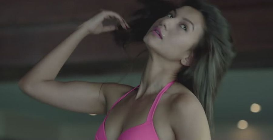 Gauhar Khan's Pink Bikini Photos will give you 'Fever'