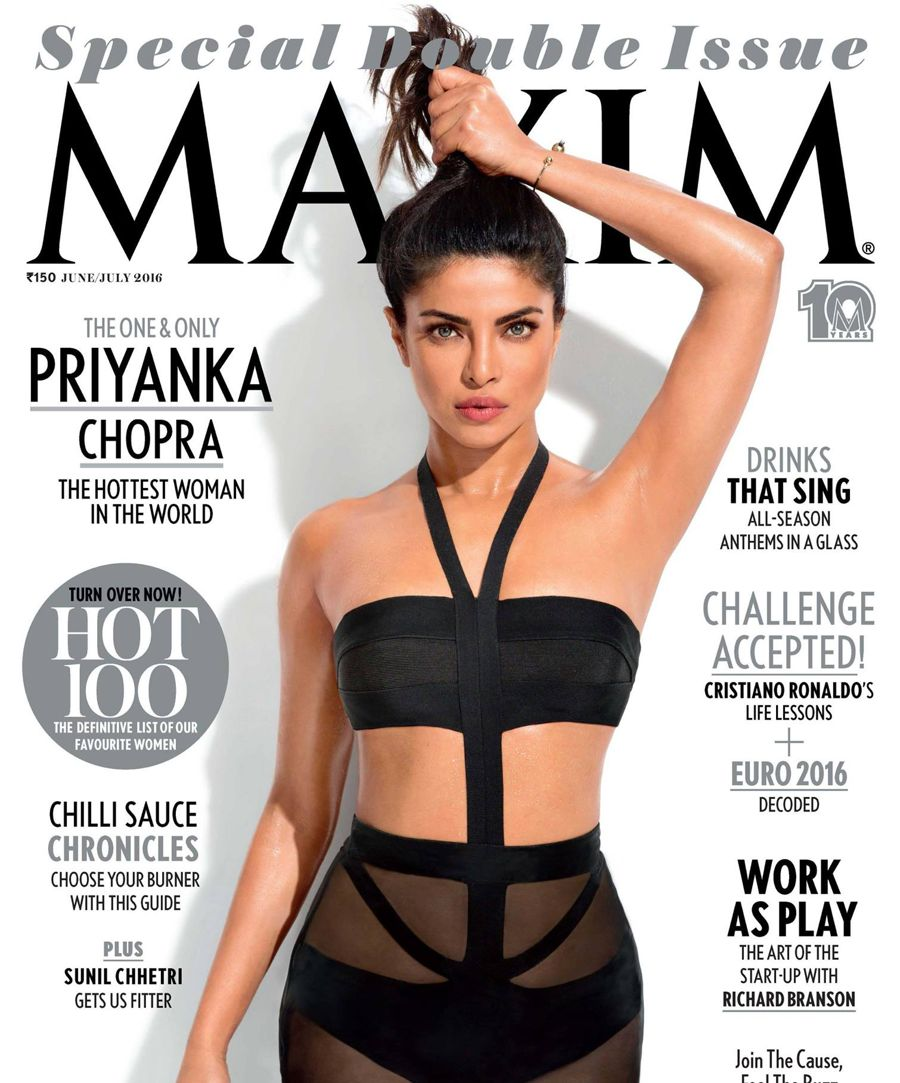 Priyanka Chopra - Maxim Magazine (June/July 2016)