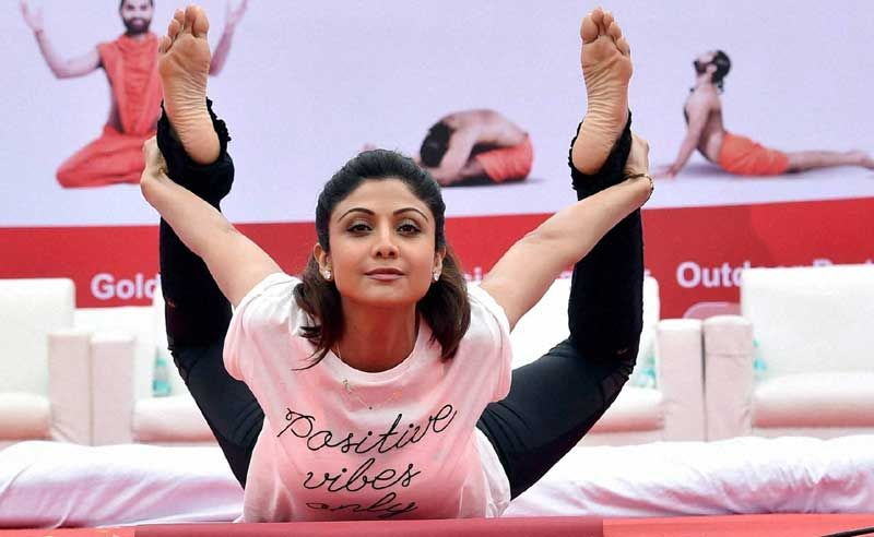 Shilpa Shetty Joins Celebrating International Yoga Day