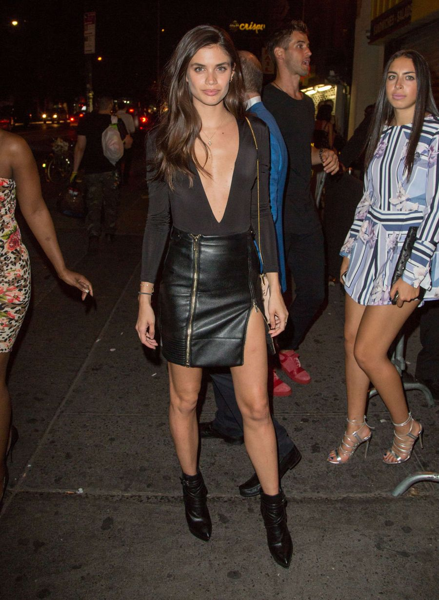 Sara Sampaio at Nick Jonas Party in New York City