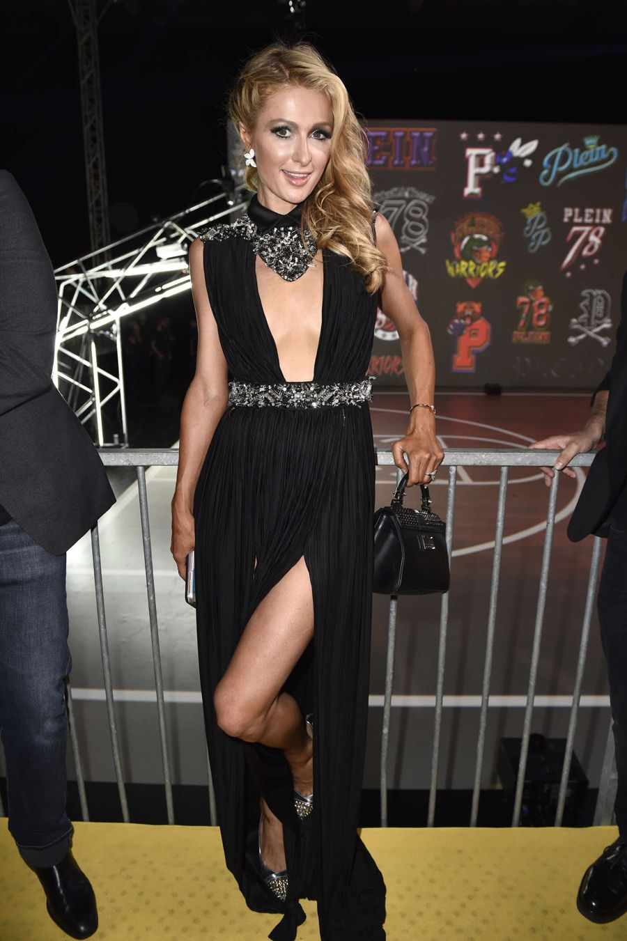 Paris Hilton - Philip Plein Fashion Show 2016 in Milan
