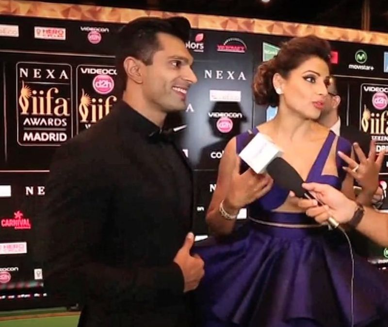 Bipasha Basu & Karan looking absolutely fabulous at IIFA