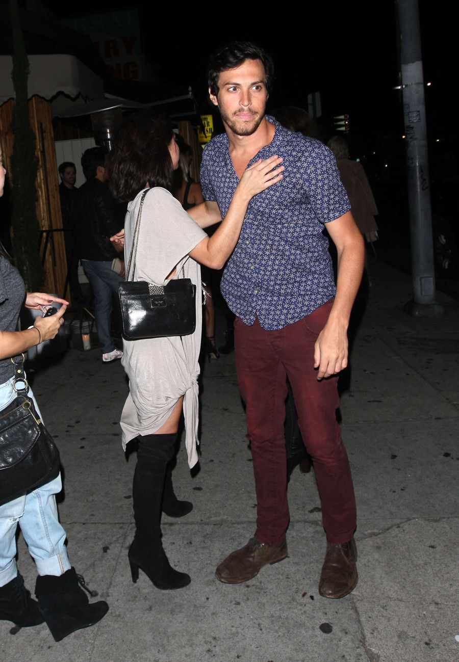 Sarah Hyland at The Nice Guy Club in Hollywood
