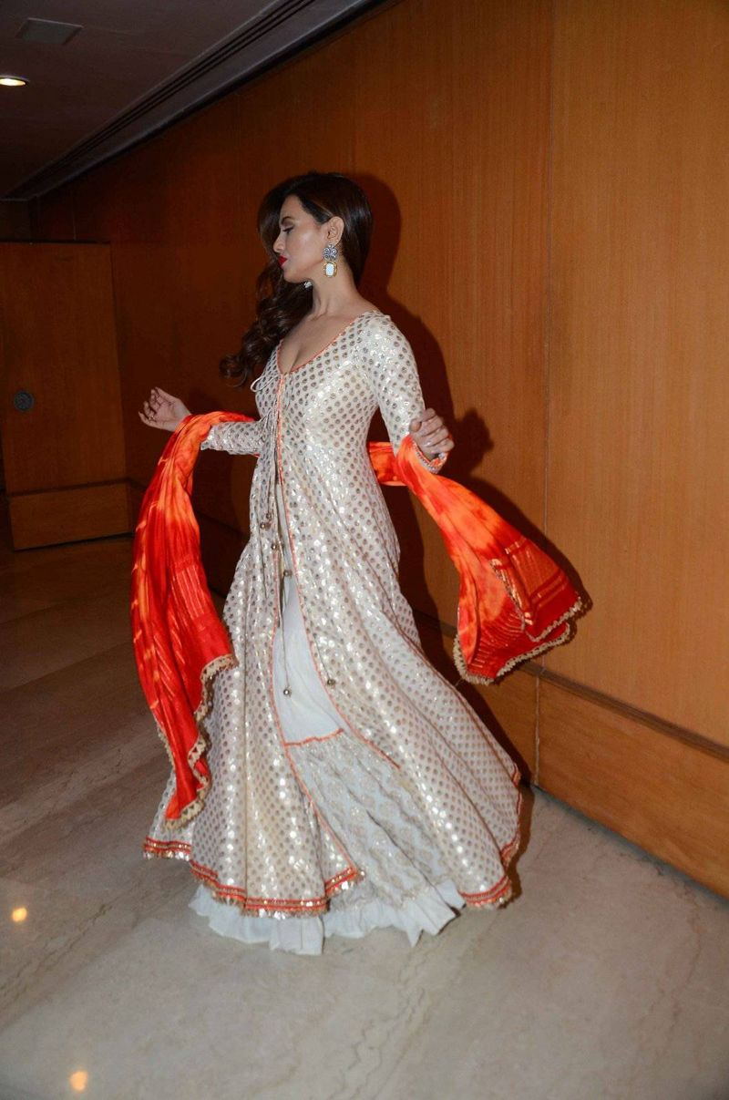 Sana Khan at Maheka Mirpuri Show