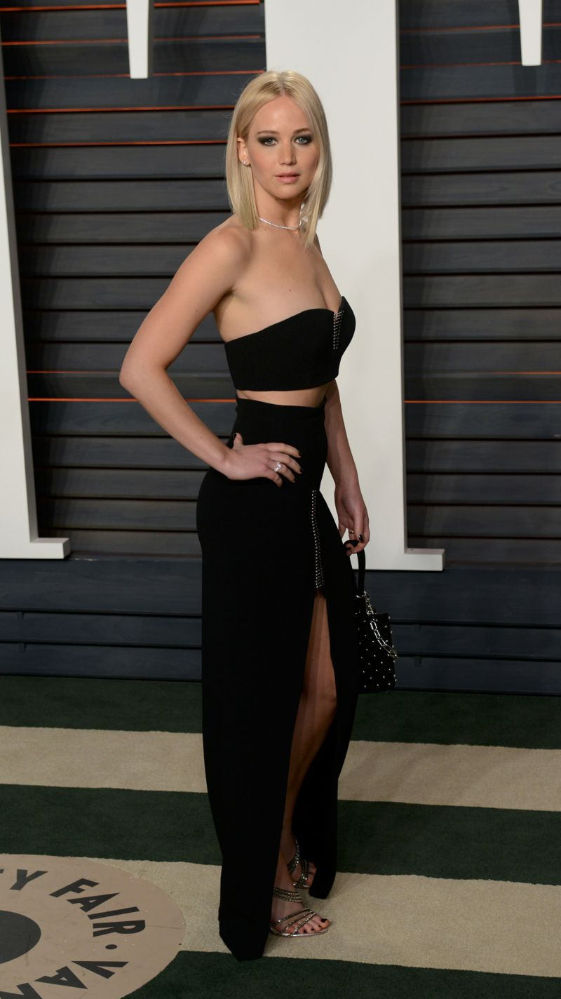 Jennifer Lawrence 2016 Vanity Fair Oscar Party