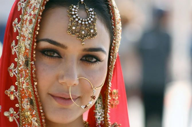 Preity Zinta's GORGEOUS bridal avatars!