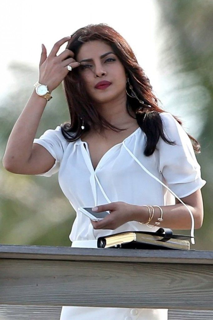 First Pictures of Priyanka Chopra from Baywatch Sets