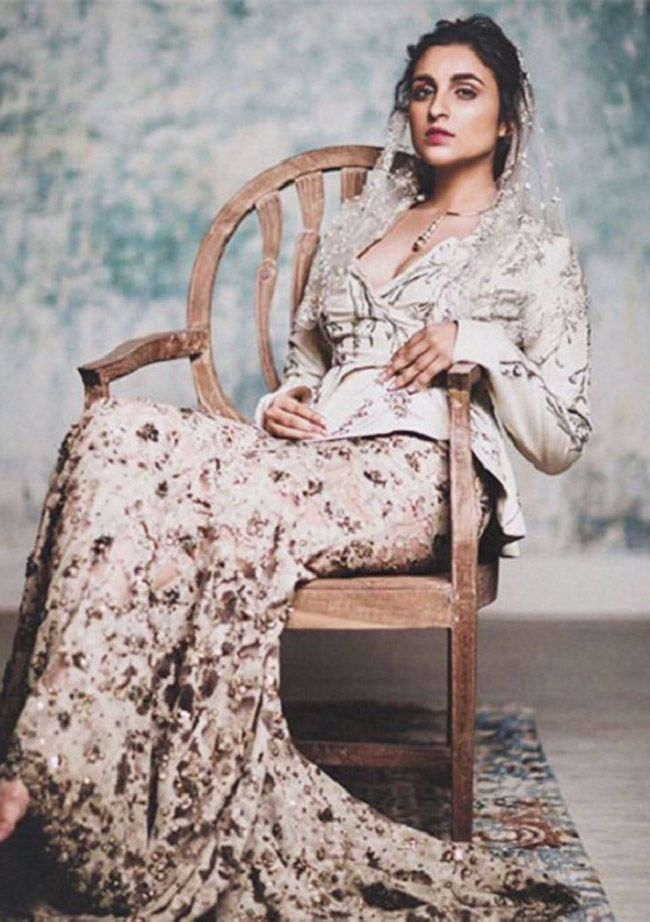 Parineeti Chopra for Harper's Bazaar Bride Magazine