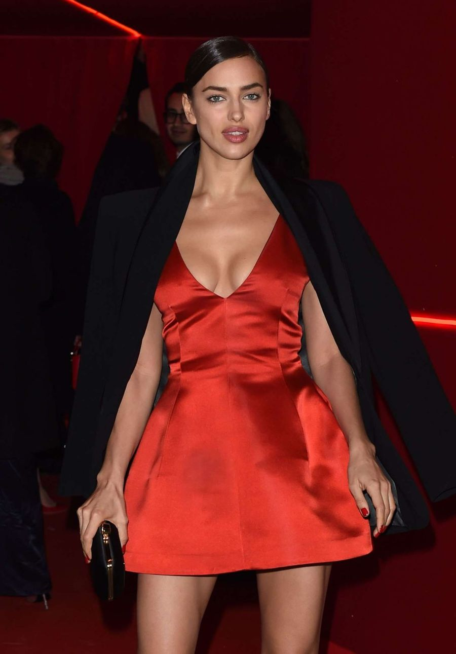 Irina Shayk at L'Oreal Red Obsession Party 2016