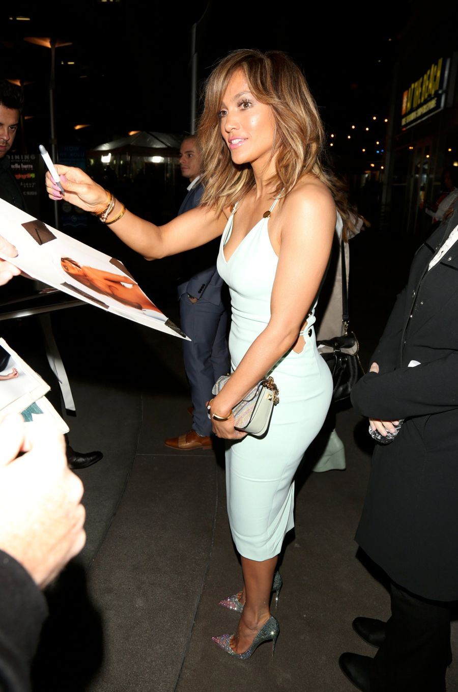 "Jennifer Lopez ""The Perfect Match"" Premiere in Los Angeles"