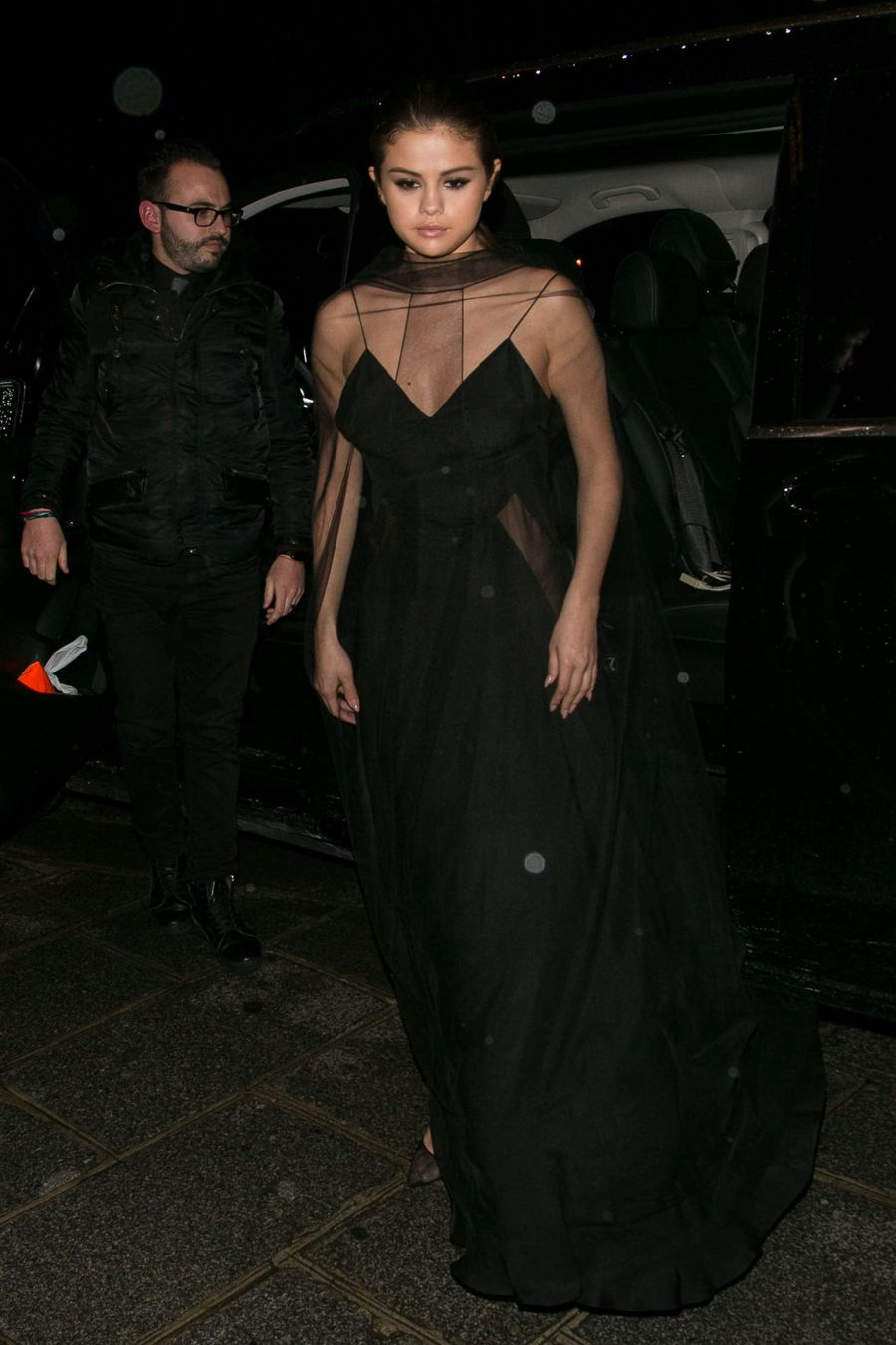 Selena Gomez - Attending Louis Vuitton Dinner Party
