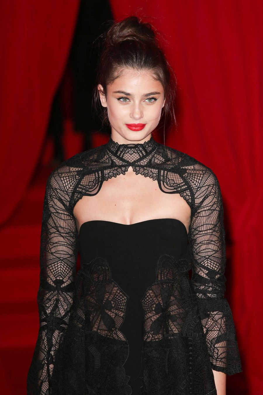 Taylor Hill - Attends at L'Oreal Red Obsession Party 2016