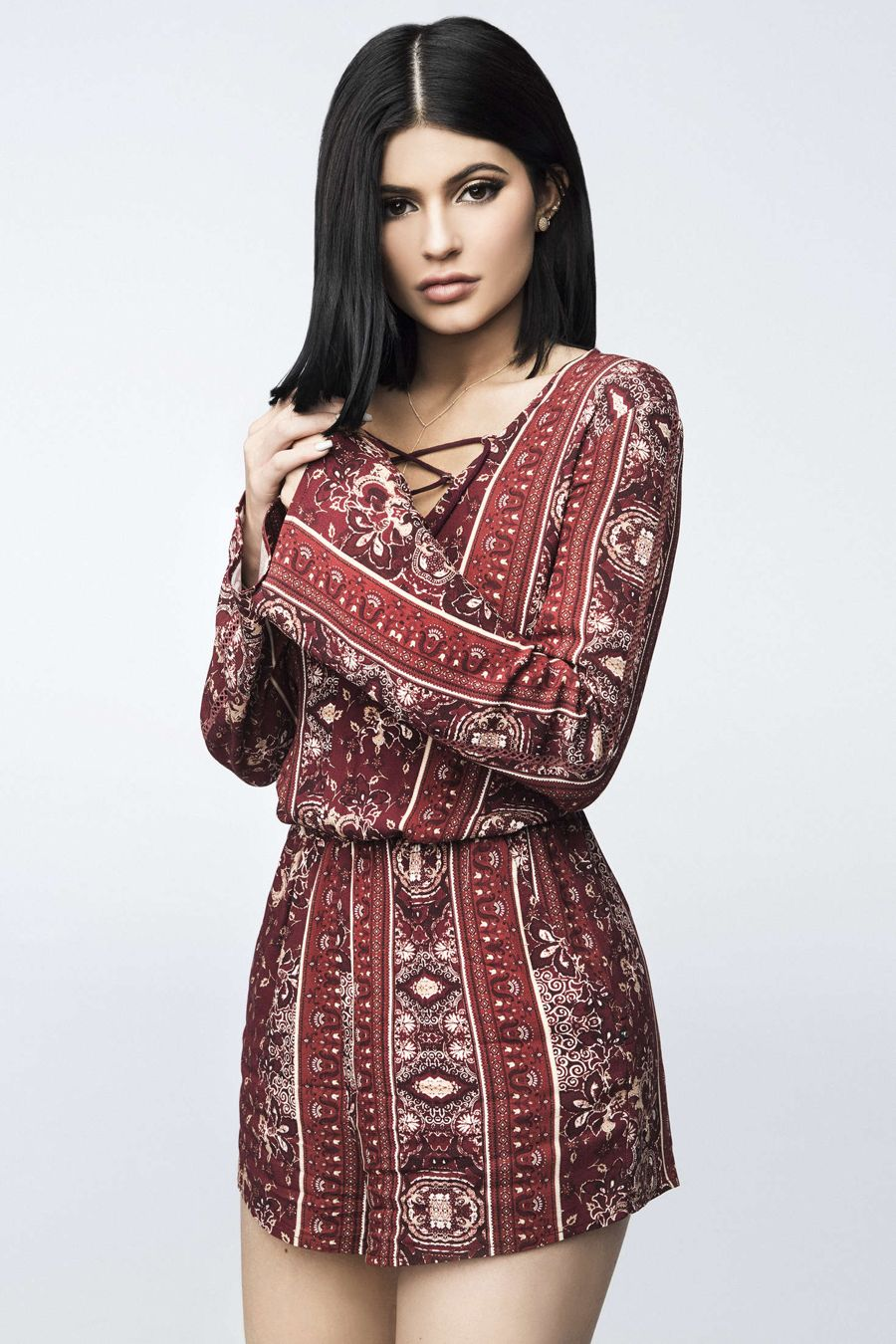 Kendall and Kylie Jenner - Pacsun 2016 collection