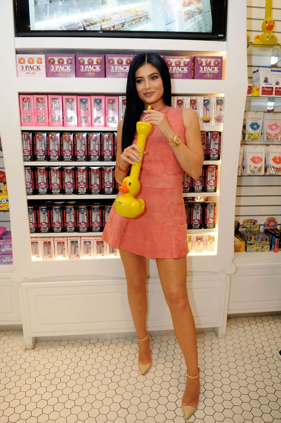 Kylie Jenner - Opening of The Sugar Factory in Orlando