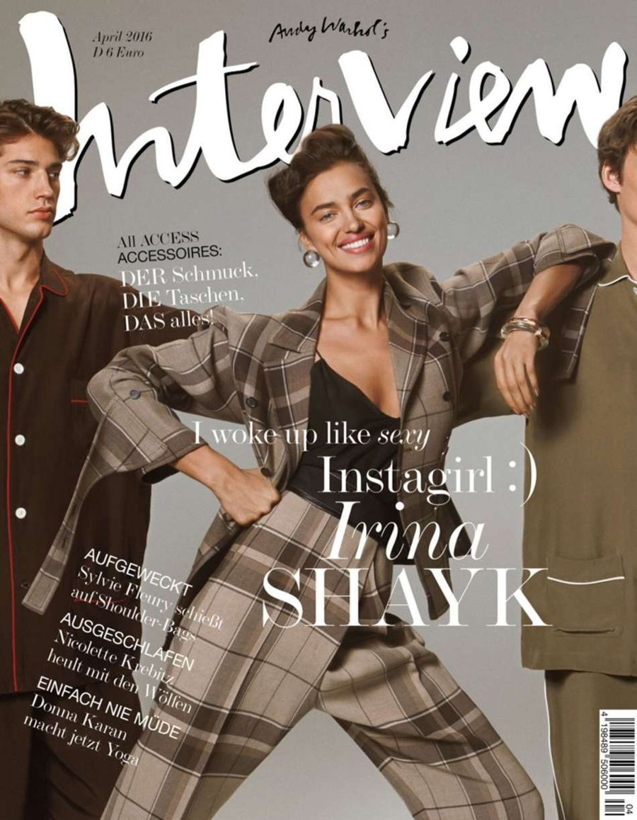 Irina Shayk - Interview Germany Magazine (April 2016)