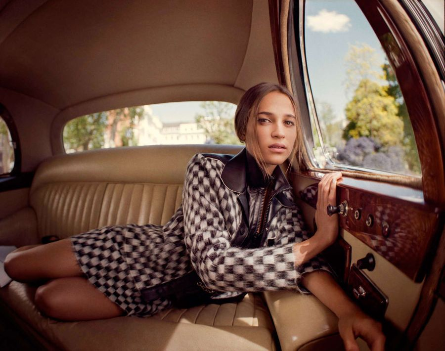Alicia Vikander - Porter Magazine (August 2015)
