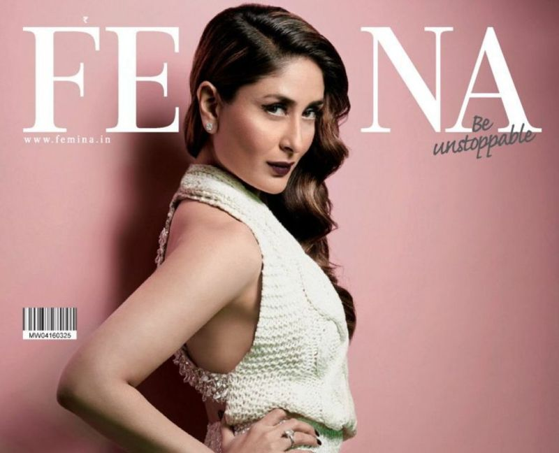 Kareena Kapoor on Femina Magazine March 2016