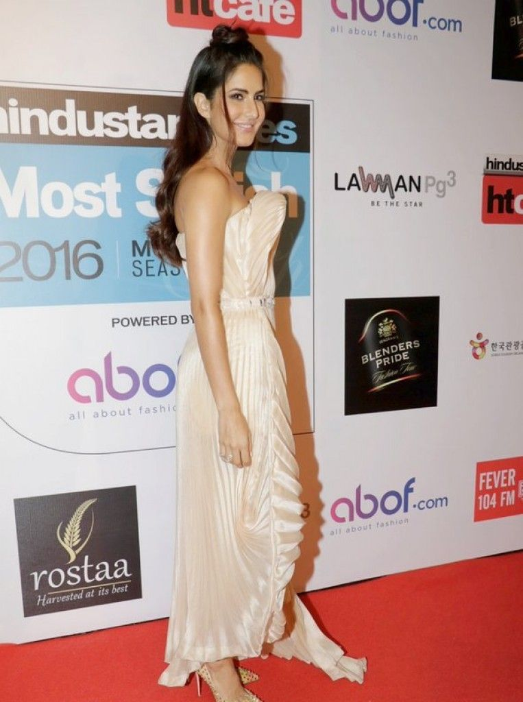 Katrina Kaif in Antonio Grimaldi at HT Most Stylish Mumbai