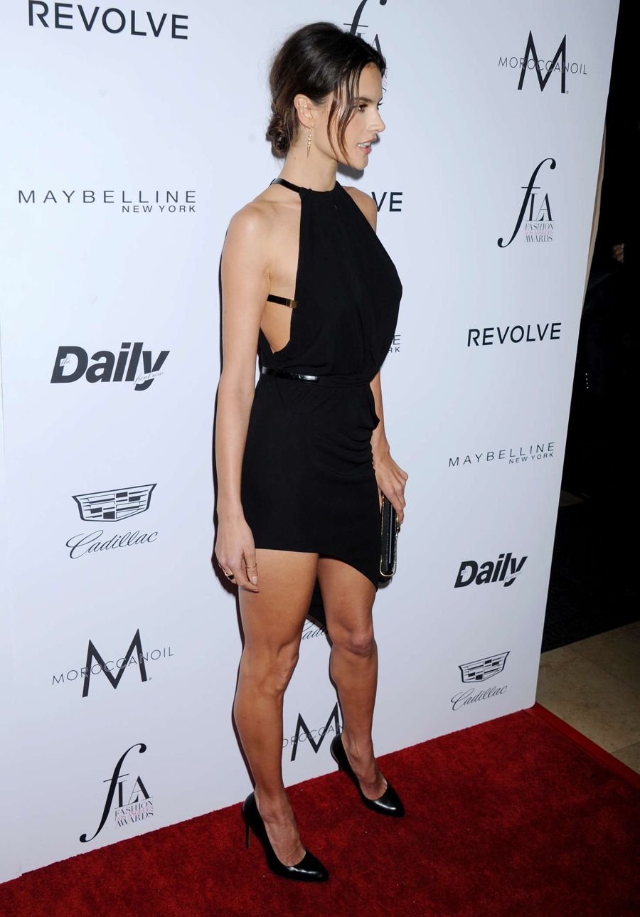 Alessandra Ambrosio - The Daily Front Row Fashion