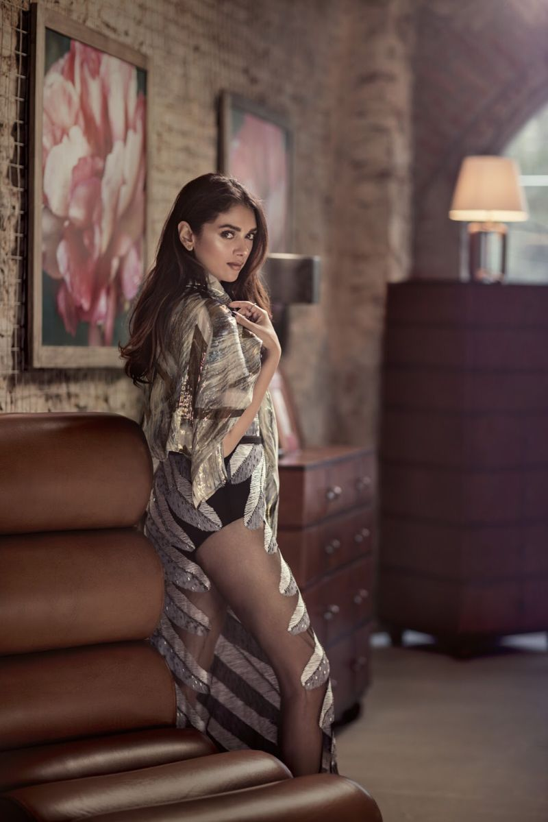 Wazir actress Aditi Rao Hydari FilmFare shoot!