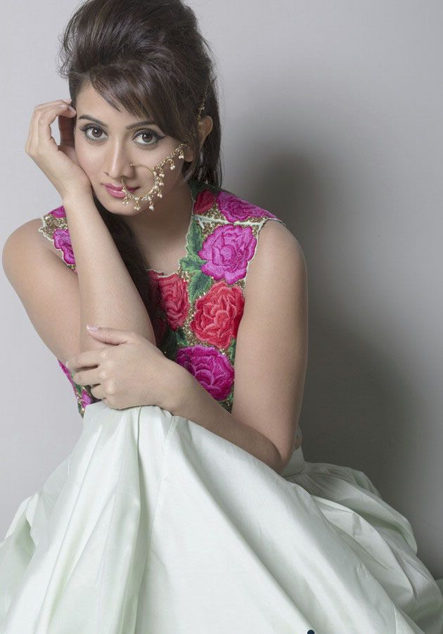 Harshika Poonacha Gorgeous as She Poses for Photographs