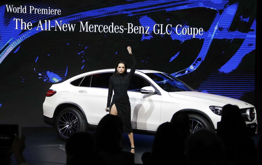 Mandy Capristo Performs at the Mercedes-Benz GLC Launch