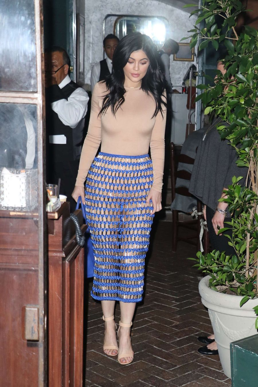 Kylie Jenner Leaves Il Cielo in Beverly Hills
