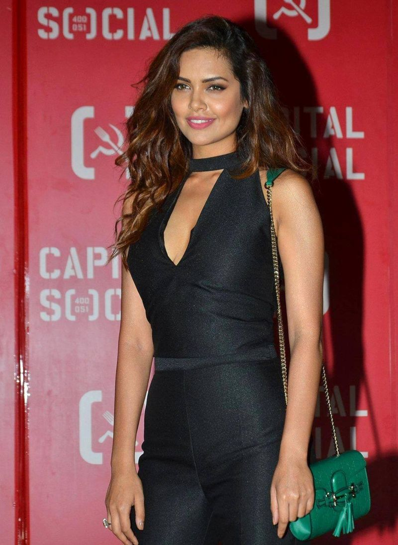 Esha Gupta At Capital Social Restaurant Launch Party