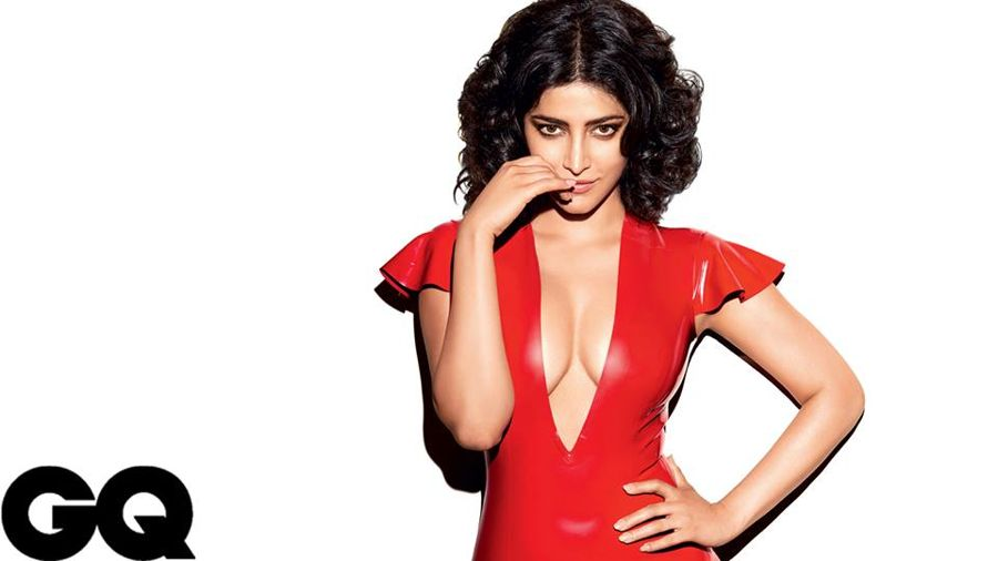Shruti Hassan Drop Dead Gorgeous in GQ May