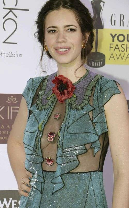 Kalki Koechlin in Gucci at Youth Fashion Awards