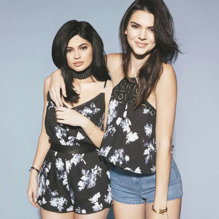 Kendall and Kylie Jenner - Pacsun Summer Collection '16