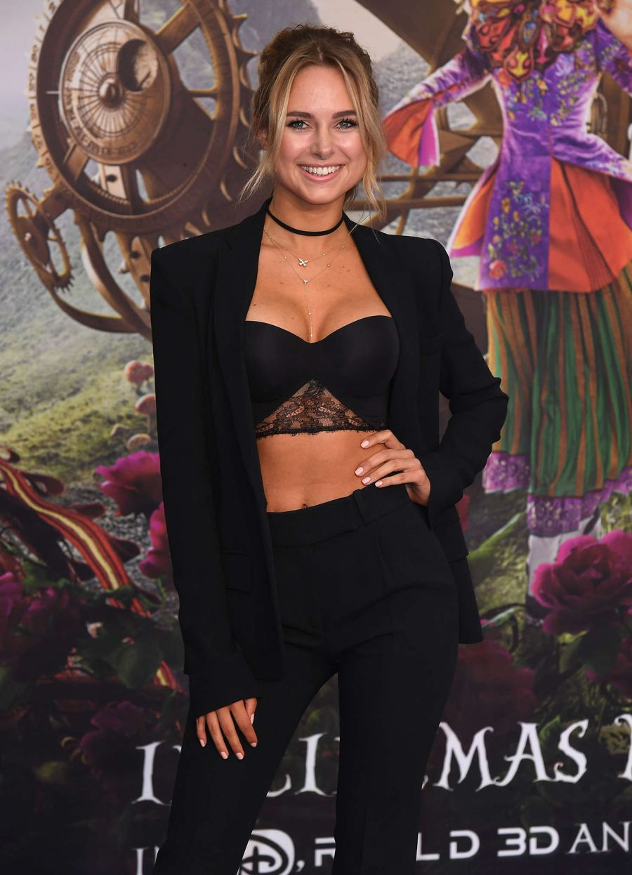 Kimberley Garner - 'Alice Through Looking Glass' Premiere