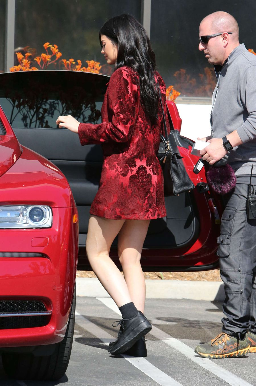 Kylie Jenner Leaves a studio in Los Angeles