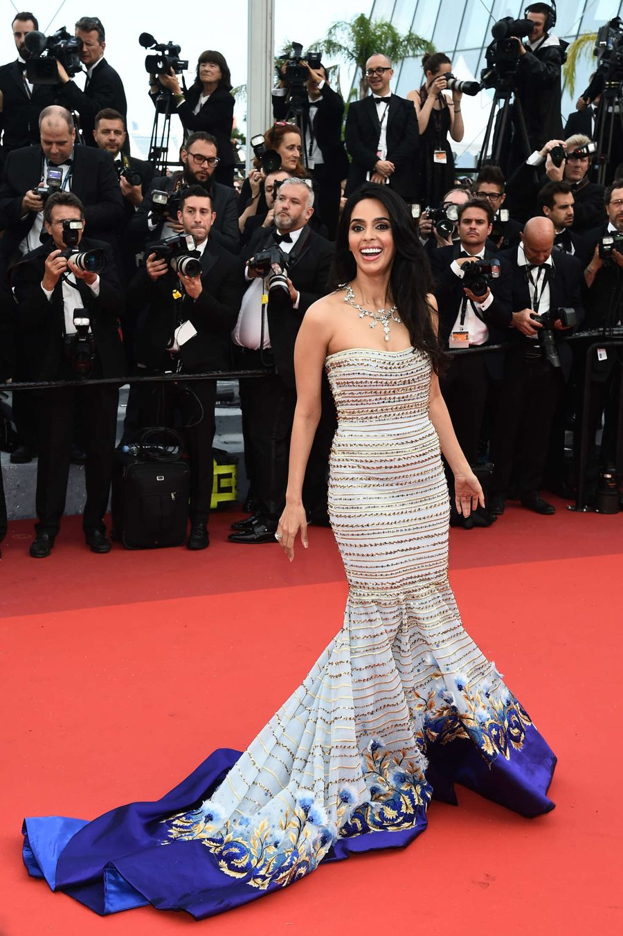 Mallika Sherawat 'Cafe Society' Opening Gala at Cannes