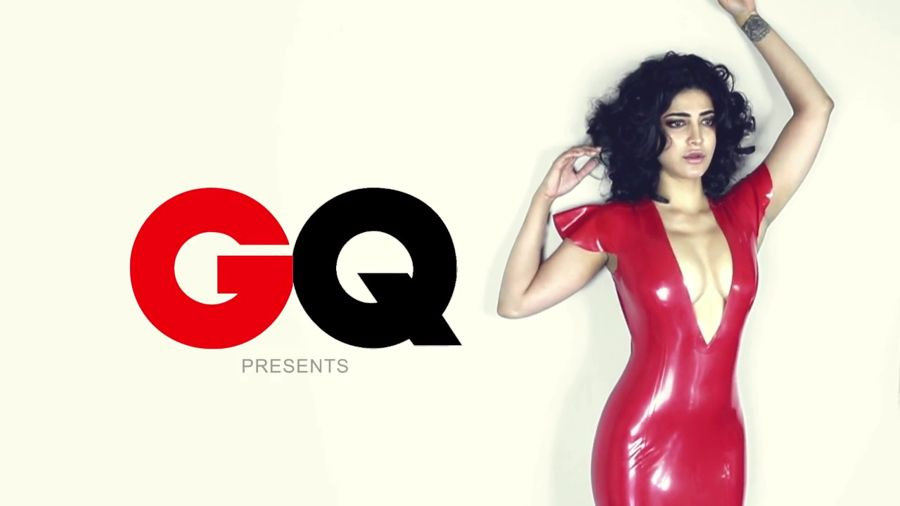Shruti Hassan's GQ Shoot (May'16) [Behind The Scenes]