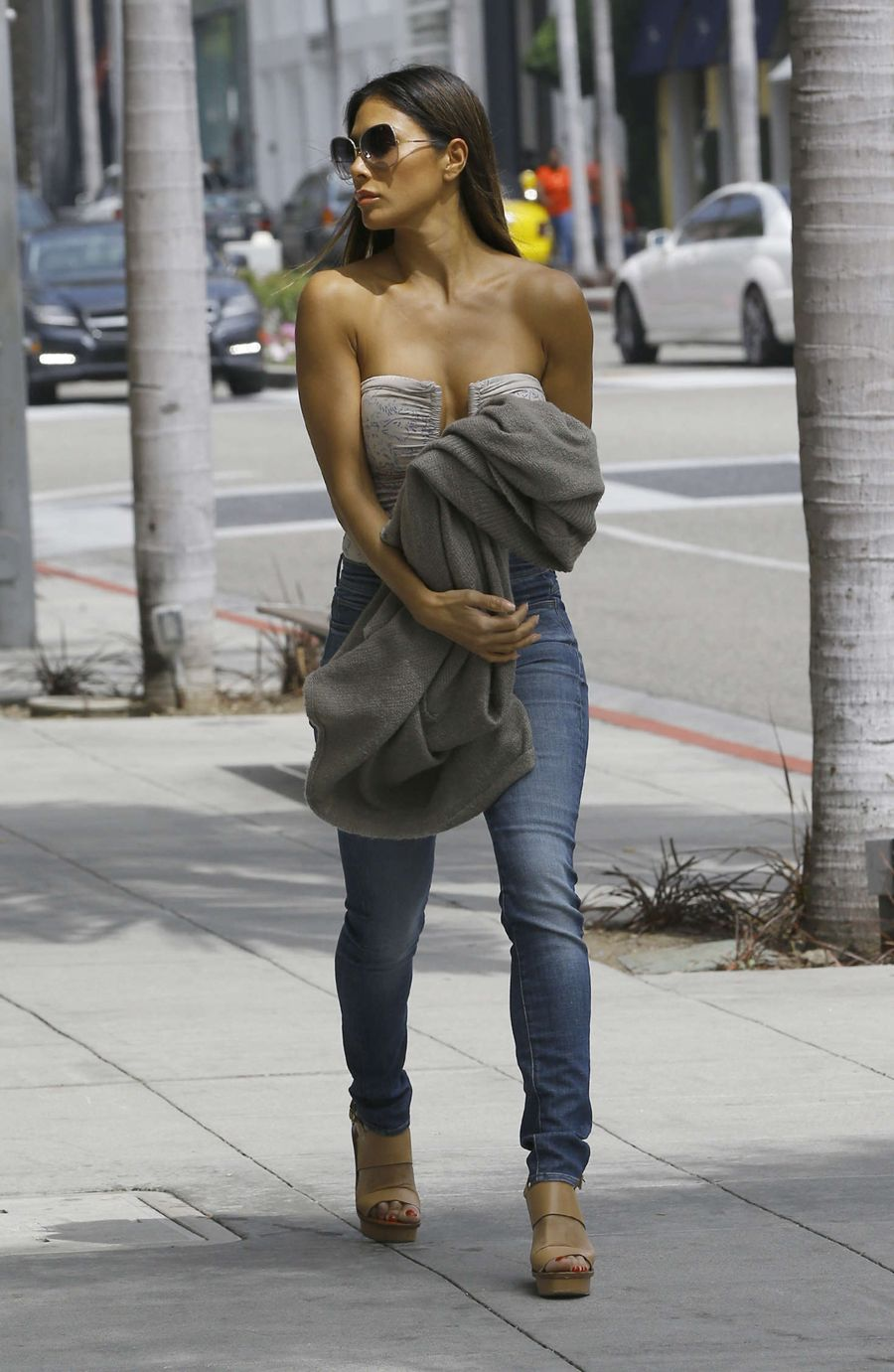 Nicole Scherzinger in Jeans out in Los Angeles