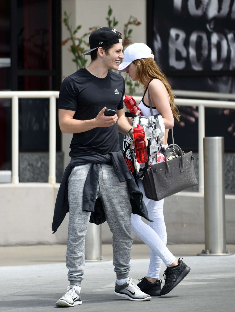 Bella Thorne - Leaving a training class in Brentwood