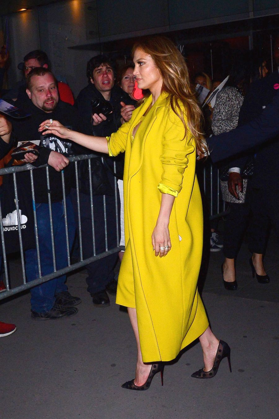 Jennifer Lopez - Arrives at NBC After Party in NYC