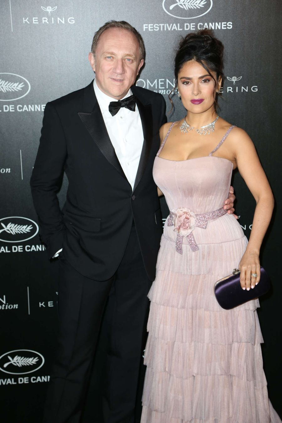 Salma Hayek - Women in Motion Gala Awards at Cannes