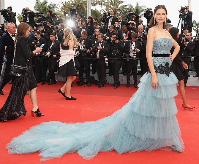 Cannes 2016: The best dressed models